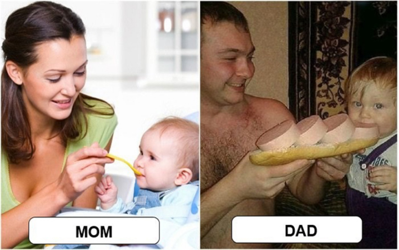 parenting differences